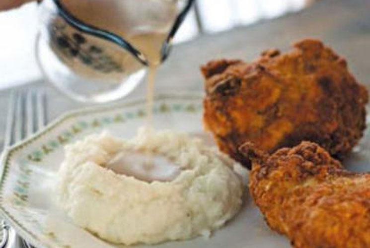 Midwestern Fried Chicken and Gravy